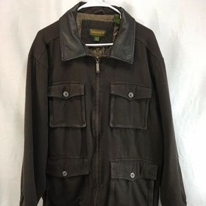 Timberland Weathergear Coat Jacket Brown